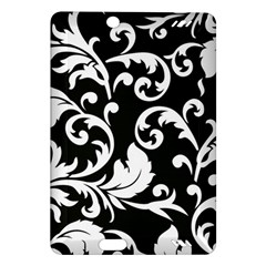 Vector Classical trAditional Black And White Floral Patterns Amazon Kindle Fire HD (2013) Hardshell Case