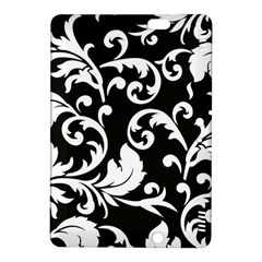 Vector Classical Traditional Black And White Floral Patterns Kindle Fire Hdx 8 9  Hardshell Case