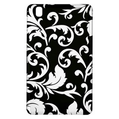 Vector Classical Traditional Black And White Floral Patterns Samsung Galaxy Tab Pro 8 4 Hardshell Case