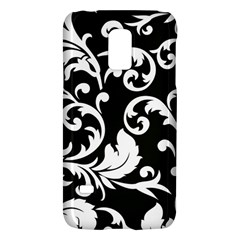 Vector Classical Traditional Black And White Floral Patterns Galaxy S5 Mini