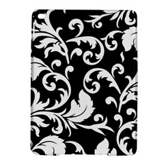 Vector Classical Traditional Black And White Floral Patterns Ipad Air 2 Hardshell Cases