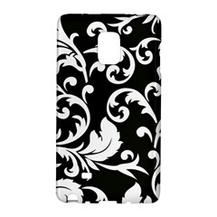 Vector Classical Traditional Black And White Floral Patterns Galaxy Note Edge