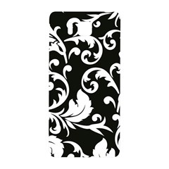 Vector Classical Traditional Black And White Floral Patterns Samsung Galaxy Alpha Hardshell Back Case