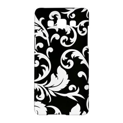 Vector Classical trAditional Black And White Floral Patterns Samsung Galaxy A5 Hardshell Case