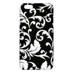 Vector Classical Traditional Black And White Floral Patterns Iphone 6 Plus/6s Plus Tpu Case