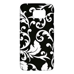 Vector Classical Traditional Black And White Floral Patterns Galaxy S6