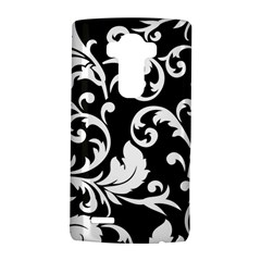 Vector Classical Traditional Black And White Floral Patterns Lg G4 Hardshell Case