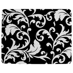 Vector Classical trAditional Black And White Floral Patterns Jigsaw Puzzle Photo Stand (Rectangular)