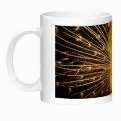 3d Beautiful Peacock Night Luminous Mugs