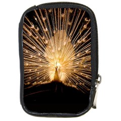 3d Beautiful Peacock Compact Camera Cases