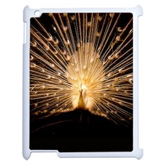 3d Beautiful Peacock Apple Ipad 2 Case (white)