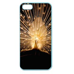 3d Beautiful Peacock Apple Seamless Iphone 5 Case (color)