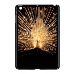 3d Beautiful Peacock Apple Ipad Mini Case (black)