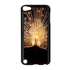 3d Beautiful Peacock Apple Ipod Touch 5 Case (black)