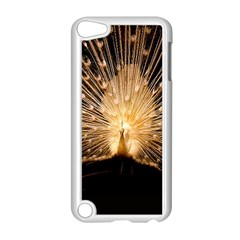 3d Beautiful Peacock Apple Ipod Touch 5 Case (white)