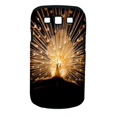 3d Beautiful Peacock Samsung Galaxy S Iii Classic Hardshell Case (pc+silicone)
