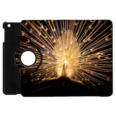 3d Beautiful Peacock Apple iPad Mini Flip 360 Case