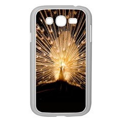 3d Beautiful Peacock Samsung Galaxy Grand DUOS I9082 Case (White)