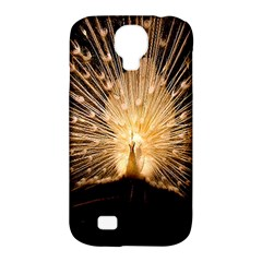 3d Beautiful Peacock Samsung Galaxy S4 Classic Hardshell Case (pc+silicone)