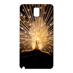 3d Beautiful Peacock Samsung Galaxy Note 3 N9005 Hardshell Back Case