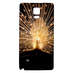 3d Beautiful Peacock Galaxy Note 4 Back Case