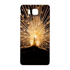 3d Beautiful Peacock Samsung Galaxy Alpha Hardshell Back Case