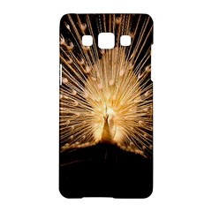 3d Beautiful Peacock Samsung Galaxy A5 Hardshell Case