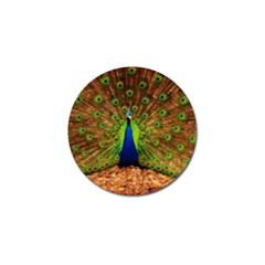 3d Peacock Bird Golf Ball Marker