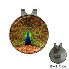 3d Peacock Bird Hat Clips With Golf Markers