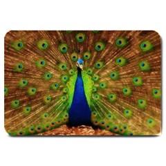 3d Peacock Bird Large Doormat