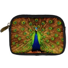 3d Peacock Bird Digital Camera Cases