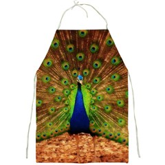 3d Peacock Bird Full Print Aprons