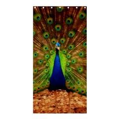 3d Peacock Bird Shower Curtain 36  X 72  (stall)