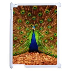 3d Peacock Bird Apple Ipad 2 Case (white)