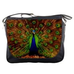 3d Peacock Bird Messenger Bags