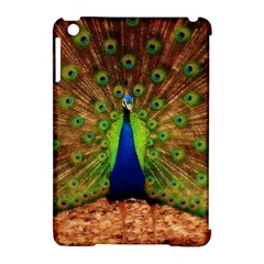 3d Peacock Bird Apple Ipad Mini Hardshell Case (compatible With Smart Cover)