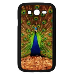 3d Peacock Bird Samsung Galaxy Grand DUOS I9082 Case (Black)