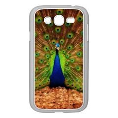 3d Peacock Bird Samsung Galaxy Grand Duos I9082 Case (white)