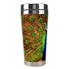 3d Peacock Bird Stainless Steel Travel Tumblers