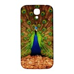 3d Peacock Bird Samsung Galaxy S4 I9500/I9505  Hardshell Back Case Front