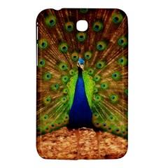 3d Peacock Bird Samsung Galaxy Tab 3 (7 ) P3200 Hardshell Case