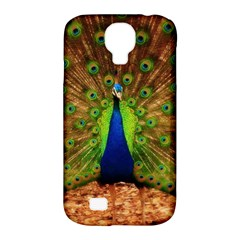 3d Peacock Bird Samsung Galaxy S4 Classic Hardshell Case (PC+Silicone)