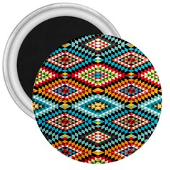 African Tribal Patterns 3  Magnets