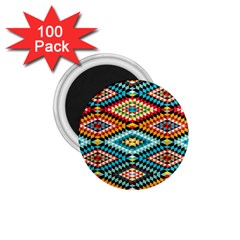 African Tribal Patterns 1 75  Magnets (100 Pack)