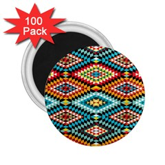 African Tribal Patterns 2.25  Magnets (100 pack)