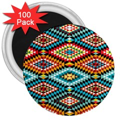 African Tribal Patterns 3  Magnets (100 pack)