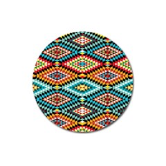 African Tribal Patterns Magnet 3  (round)