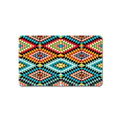 African Tribal Patterns Magnet (name Card)