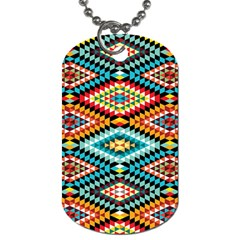 African Tribal Patterns Dog Tag (one Side)