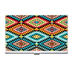 African Tribal Patterns Business Card Holders
